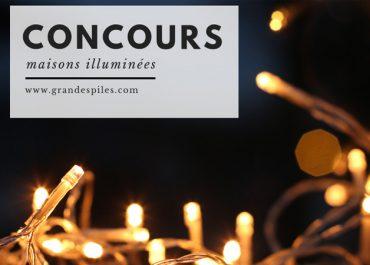 """Gagnants du concours """"Maisons illuminées 2020"""""""