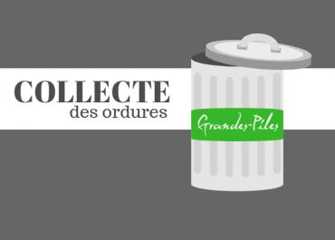 Calendrier de la cueillette des ordures 2019