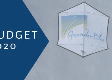 Adoption du budget 2020-2021, Grandes-Piles se démarque!